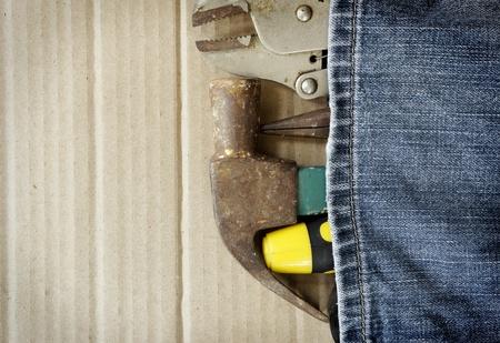 doityourself: tool jens diy work shop Stock Photo