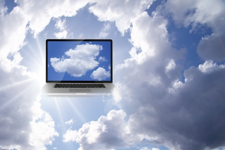 A Cloud Computing Technology Concept photo