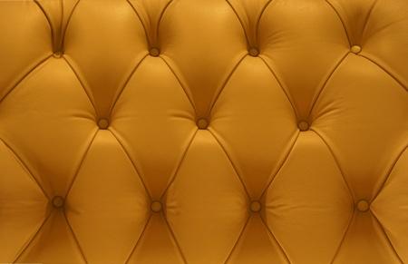Retro yellow Leather pattern sofa Stock Photo - 10366947
