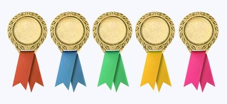 premios: Modelo de certificado con la cinta Foto de archivo