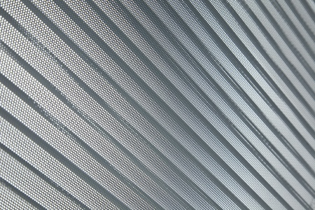 aluminium wallpaper: close-up modern abstract Shutter Blinds