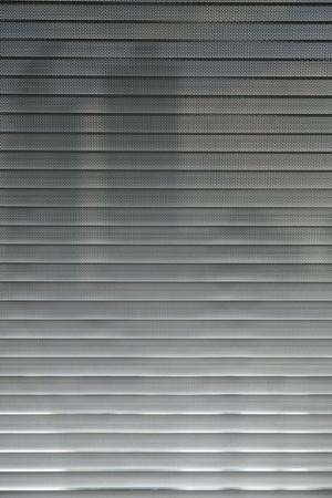 close-up modern aluminium  Shutter Blinds photo