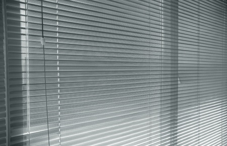 close-up modern aluminium  Shutter Blinds Stock Photo - 11540334