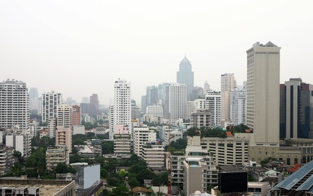 city and building in Bangkok