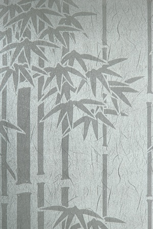 abstract shape bamboo on wallpaper  photo