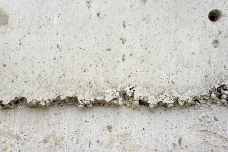 brick wall with cracked stucco layer background .                 photo