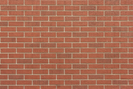 Red brick wall pattern background  photo