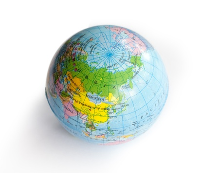 Globe of the world photo