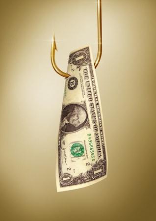 dollar hook danger photo