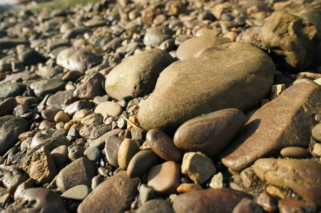 pebble stones great as a background  photo
