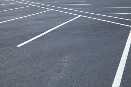 parking space: Acres of empty parking spaces