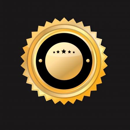Blank guarantee certificate on dark background. Stock Photo - 15788609