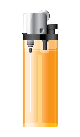 orange illustration  lighter on white. Stock Illustration - 17445168
