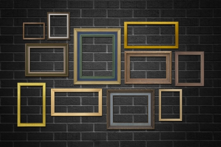 frame in grunge empty inter . Stock Photo - 18758365