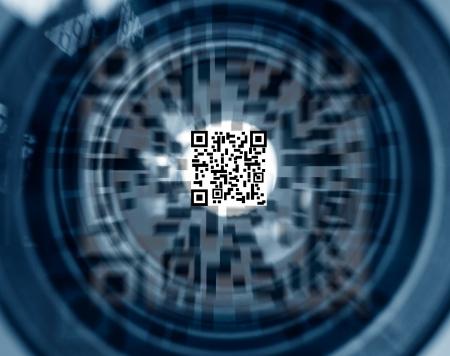 scanning: QR identification code motion