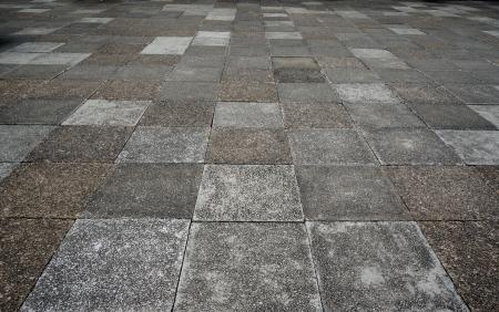Old brick floor  pattern background photo