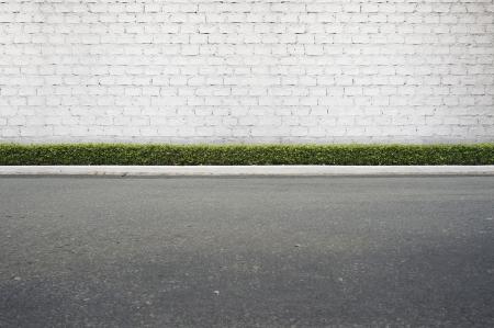 Uitzicht Roadside straat achtergrond Stockfoto - 20435155