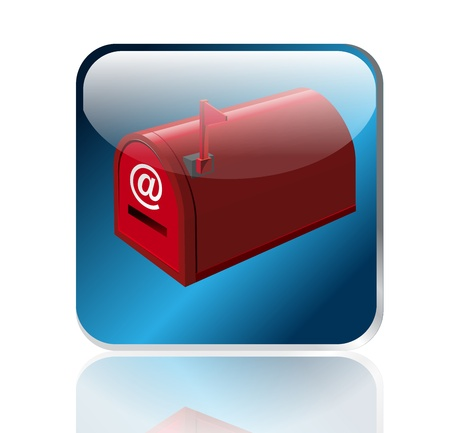 app, mail box illustration  icons design. illustration