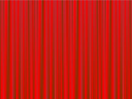 Cortina roja de un fondo de teatro clásico.
