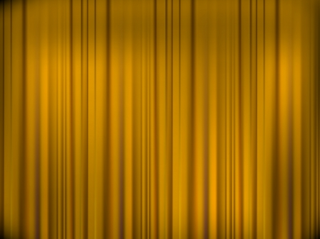 theatre curtain: yellow curtain background