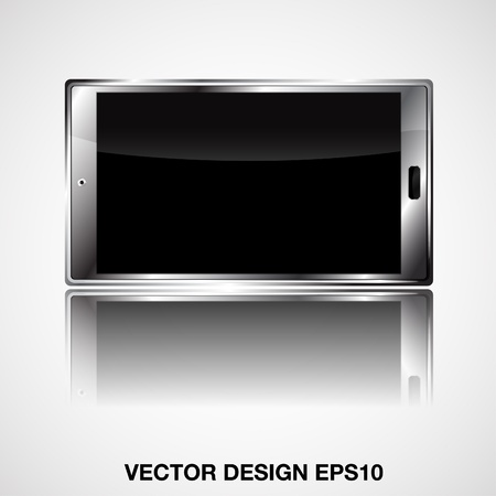 smart phone illustration Stock Vector - 21189532