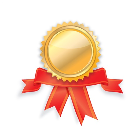 empty Golden label design Stock Vector - 21189470