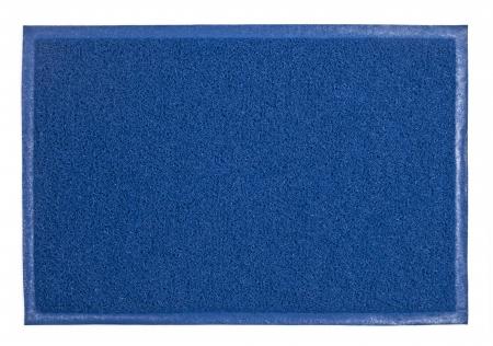 carpet texture: blue carpet isolated on white Stock Photo