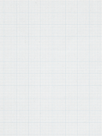 Blauwe Grafiek lijn, papier achtergrond Stockfoto