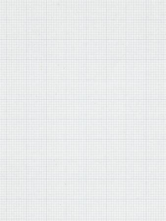 Blue Graph line, paper background