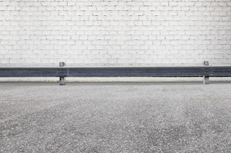 kerb: Roadside street view  background Stock Photo
