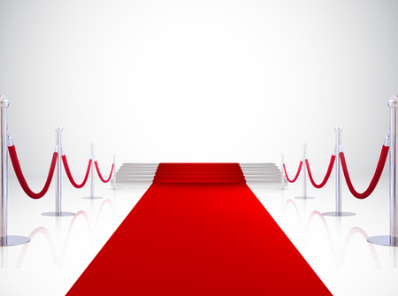 Entrada do tapete vermelho, fundo evento Banco de Imagens