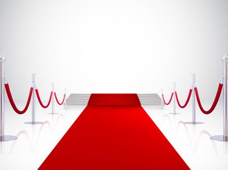 roten Teppich Eingang, Event-Hintergrund Standard-Bild