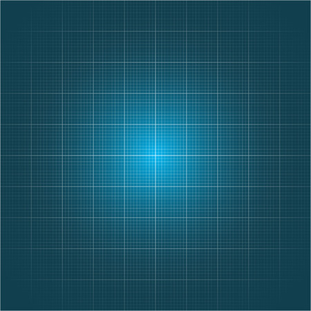blue grid line background  Vector