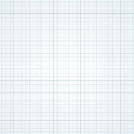 Graph grid paper vector illustration