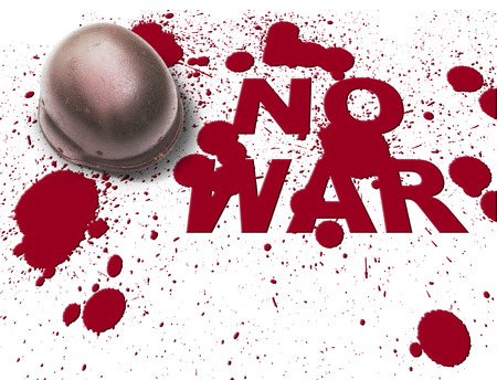 Anti war symbol concepts image  photo