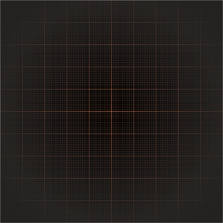 grid paper: orange grid line on dark background