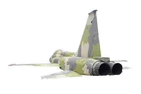 avion de chasse: banalisée avion de chasse militaire isolé