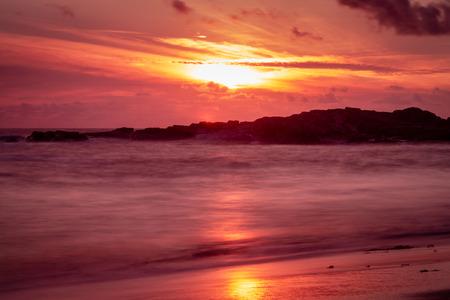 Long exposure shot at Gwithian Beach, Cornwall 2