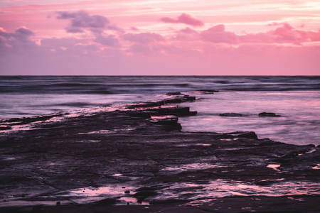 Rock formations at Kimmeridge