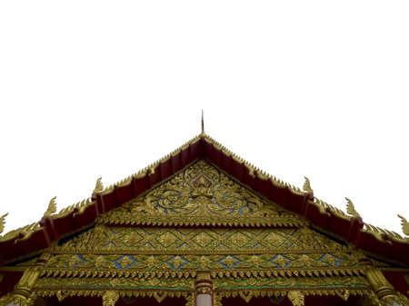 buddhist structures: Thai art Stock Photo