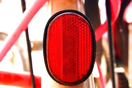 reflector: Bike reflector Stock Photo