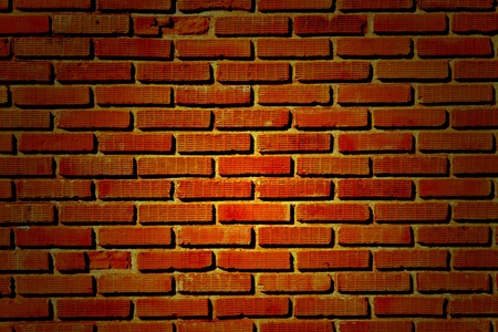 Old brick wall texture: can be used as background photo