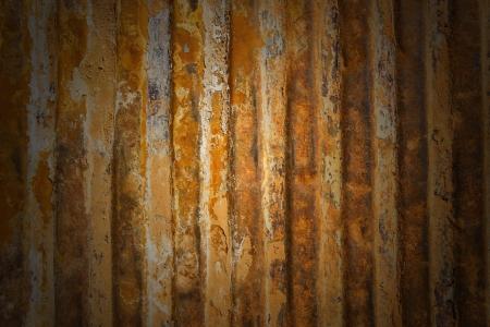 rust red: Un oxidado hierro corrugado textura de metal