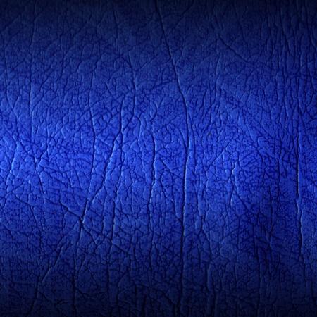 materia prima: sof� de la textura de cuero azul Foto de archivo