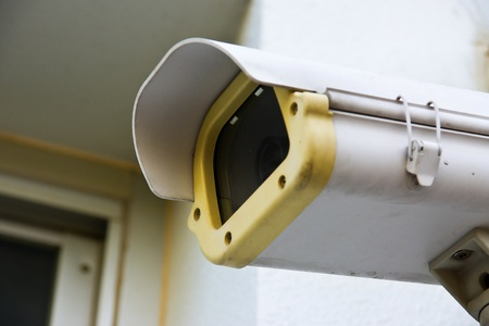 city surveillance: cctv camera