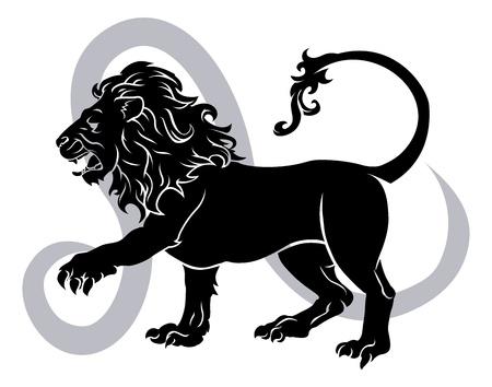 Leo the lion zodiac horoscope astrology sign