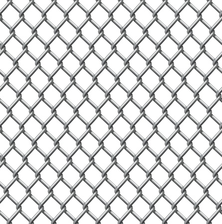 An illustration of a seamlessly tillable chain link fence pattern