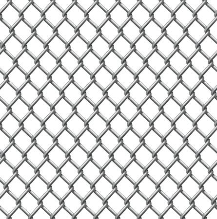Ein Beispiel für eine nahtlos tillable Maschendrahtzaun Muster