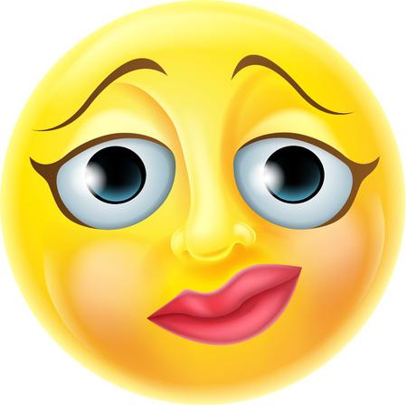 A vervous emoji emoticon smiley face character