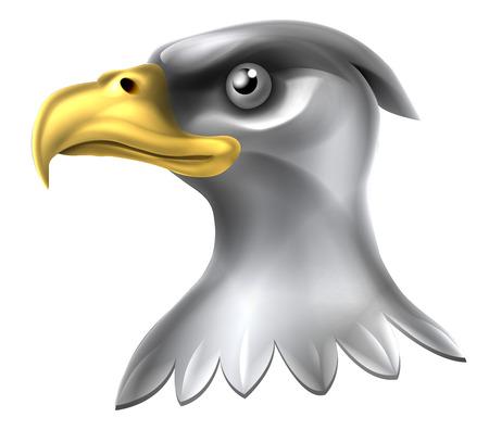 Diseño American Eagle Con águila Calva, De Los Estados Unidos Con El ...